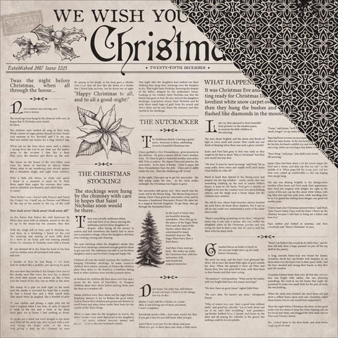 ***Pre-Order*** Kaisercraft - Christmas Edition Double-Sided Cardstock - Christmas Tale