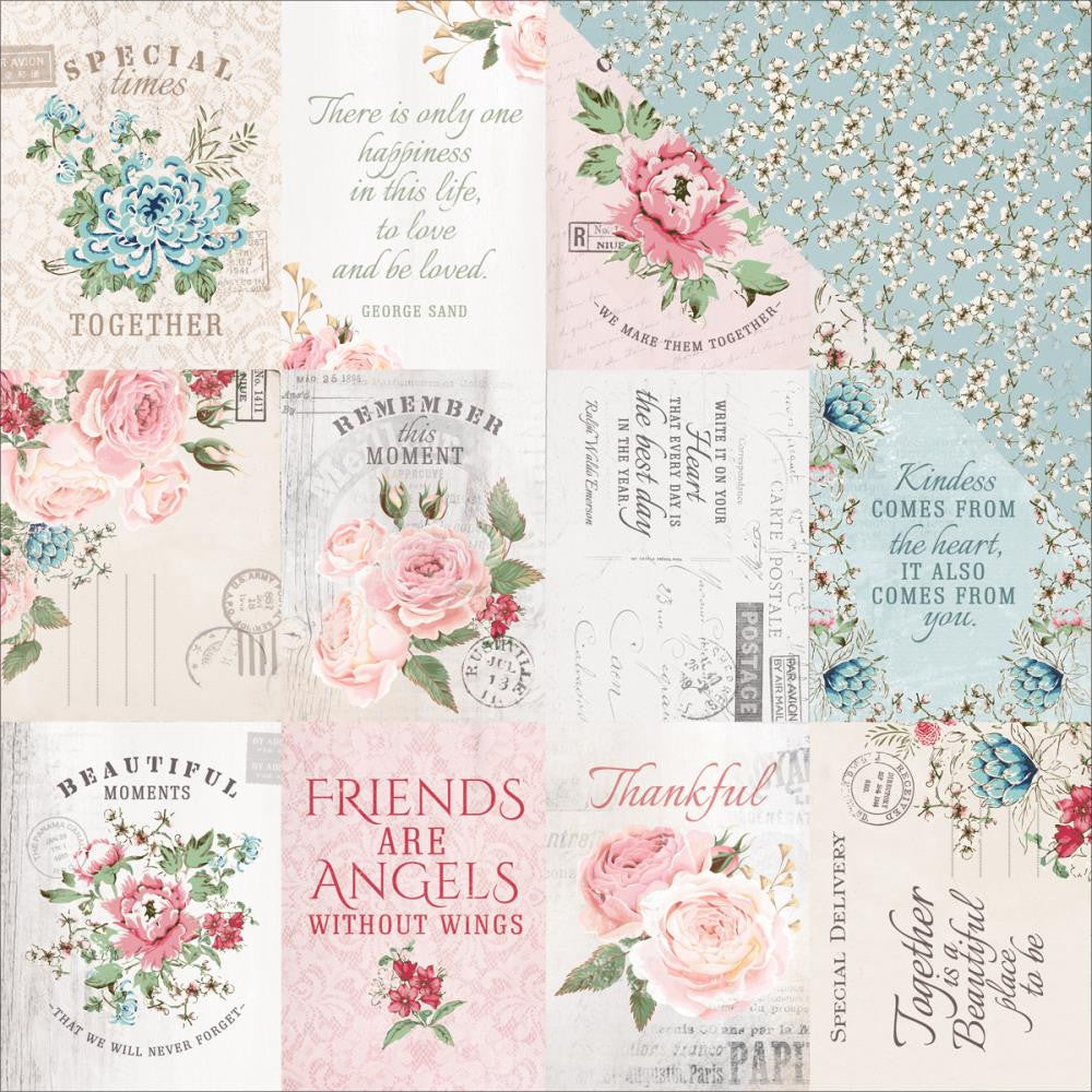 Kaisercraft - Rose Avenue Double-Sided Cardstock - Homestead