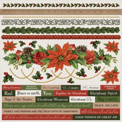 Kaisercraft - Letters To Santa Cardstock Stickers