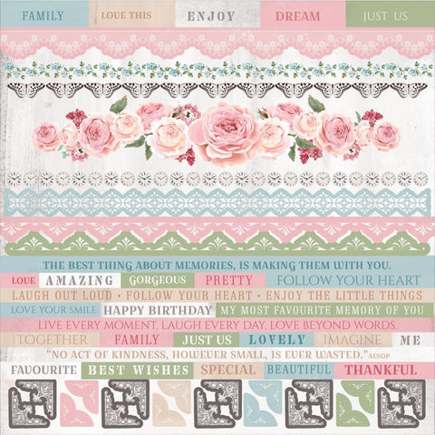 Kaisercraft - Rose Avenue Cardstock Stickers