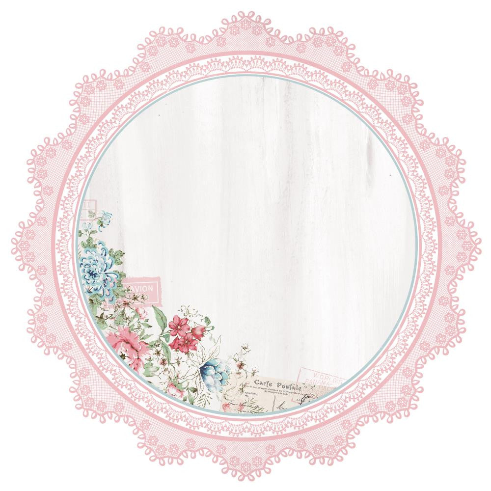 Kaisercraft - Rose Avenue Cardstock Die-Cuts - Lace Frame