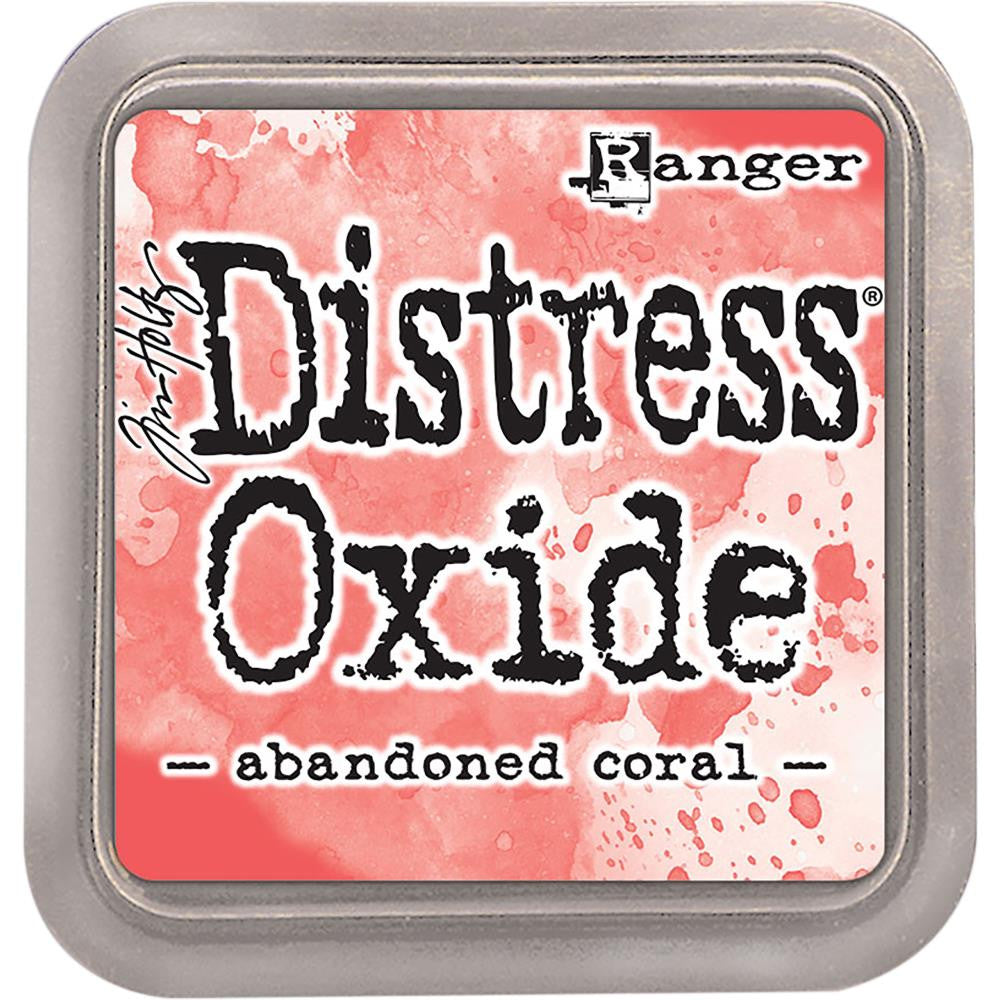 Tim Holtz - Ranger Distress Oxide Ink Pad - Abandoned Coral