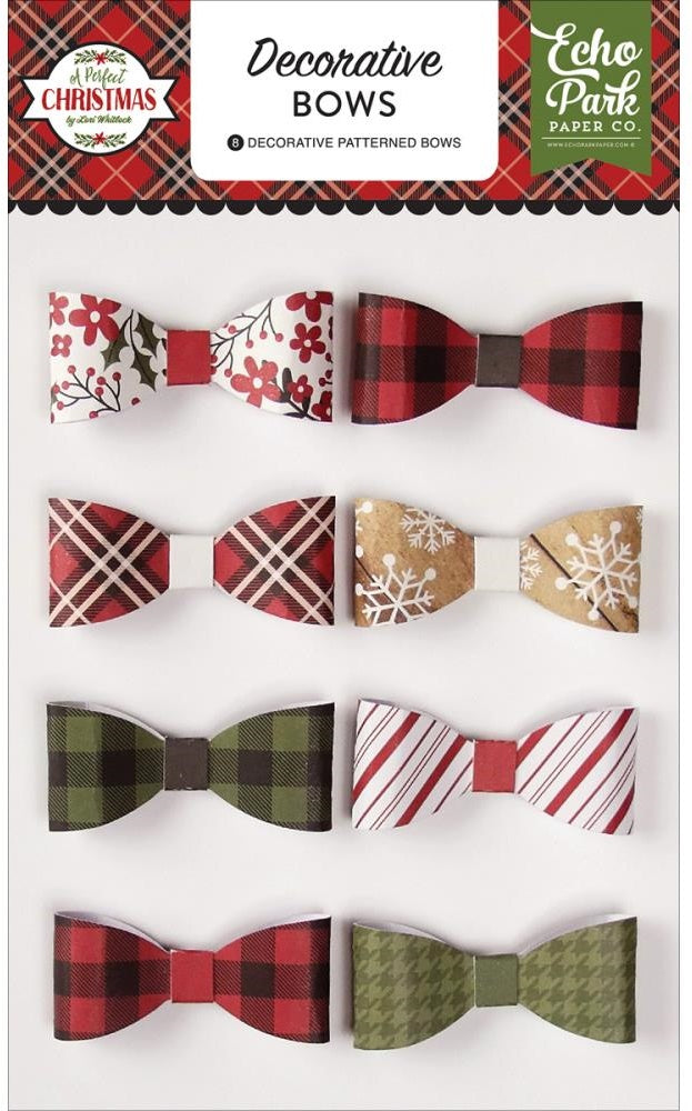 Echo Park Paper - A Perfect Christmas Decorative Bows