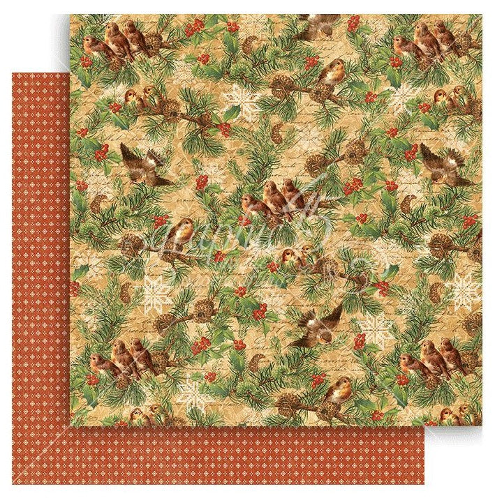 Graphic 45 - Winter Wonderland Double-Sided Cardstock - Woodland Whimsy