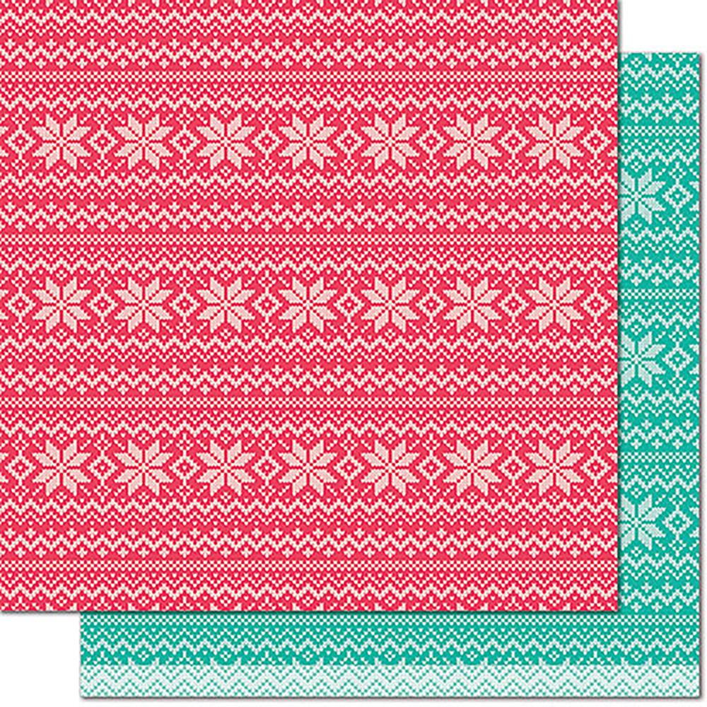 Lawn Fawn - Knit Picky Double-Sided Cardstock - Throw Blanket