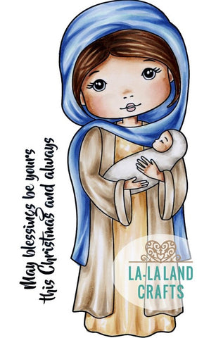 La-La Land Crafts - Cling Stamps - Mary Molli