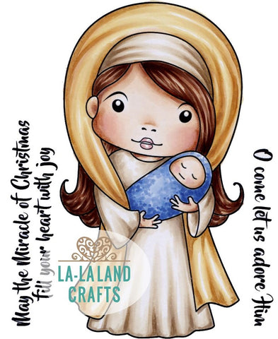 La-La Land Crafts - Cling Stamps - Mary Marci