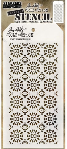 Tim Holtz - Stampers Anonymous Layering Stencil - Rosette
