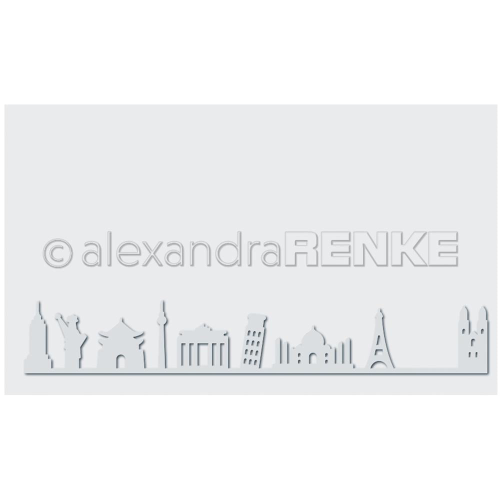 Alexandra Renke - Embossing Folder - Monuments
