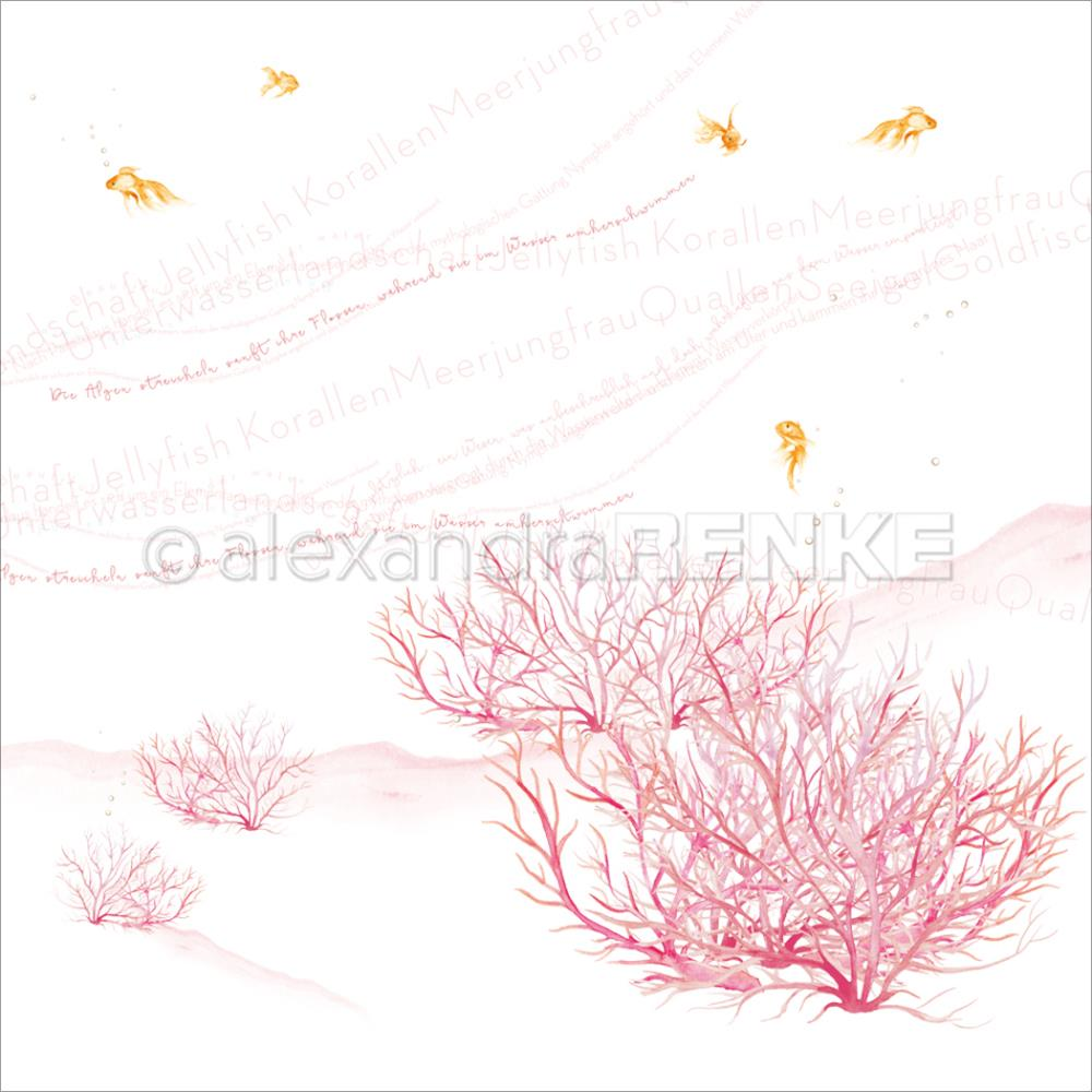 Alexandra Renke - Under The Water Design Paper - Corals