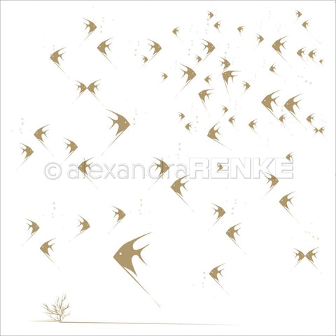 ***Pre-Order*** Alexandra Renke - Under The Water Design Paper - Fishbowl Gold