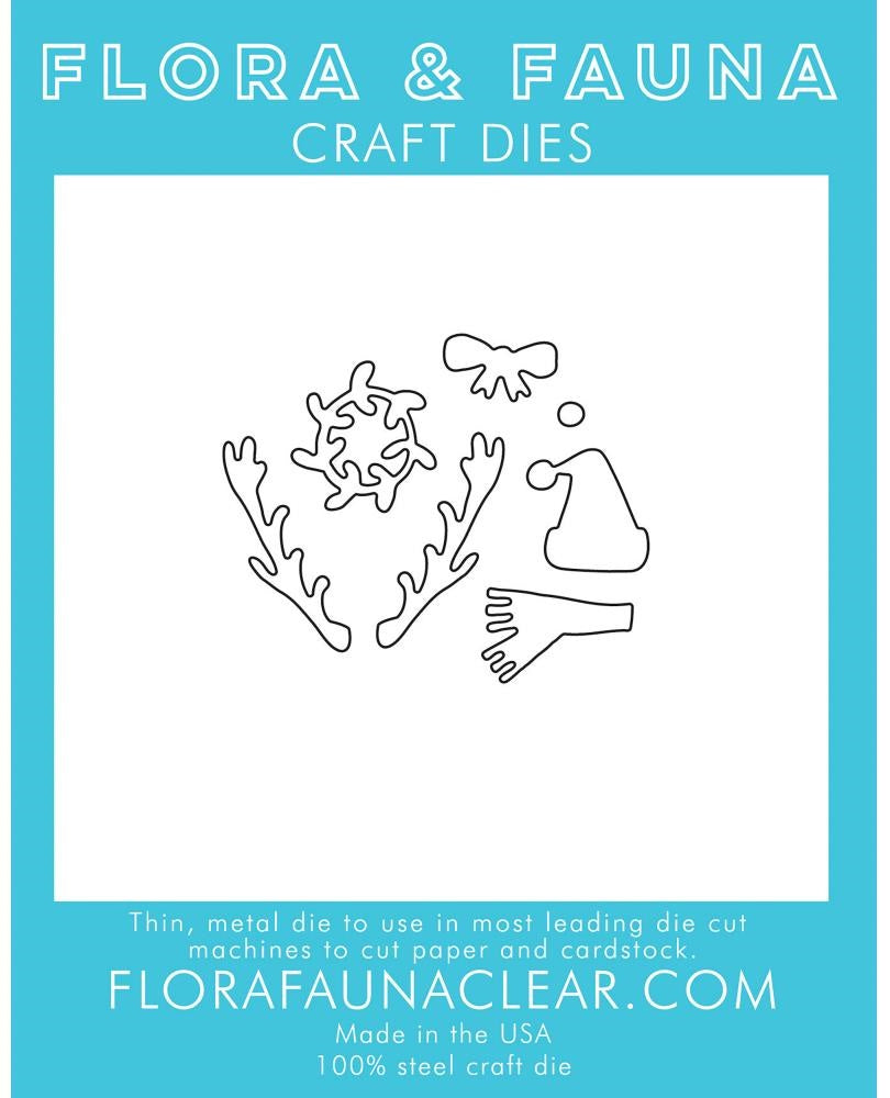 Flora and Fauna - Craft Dies - Holiday Accessories