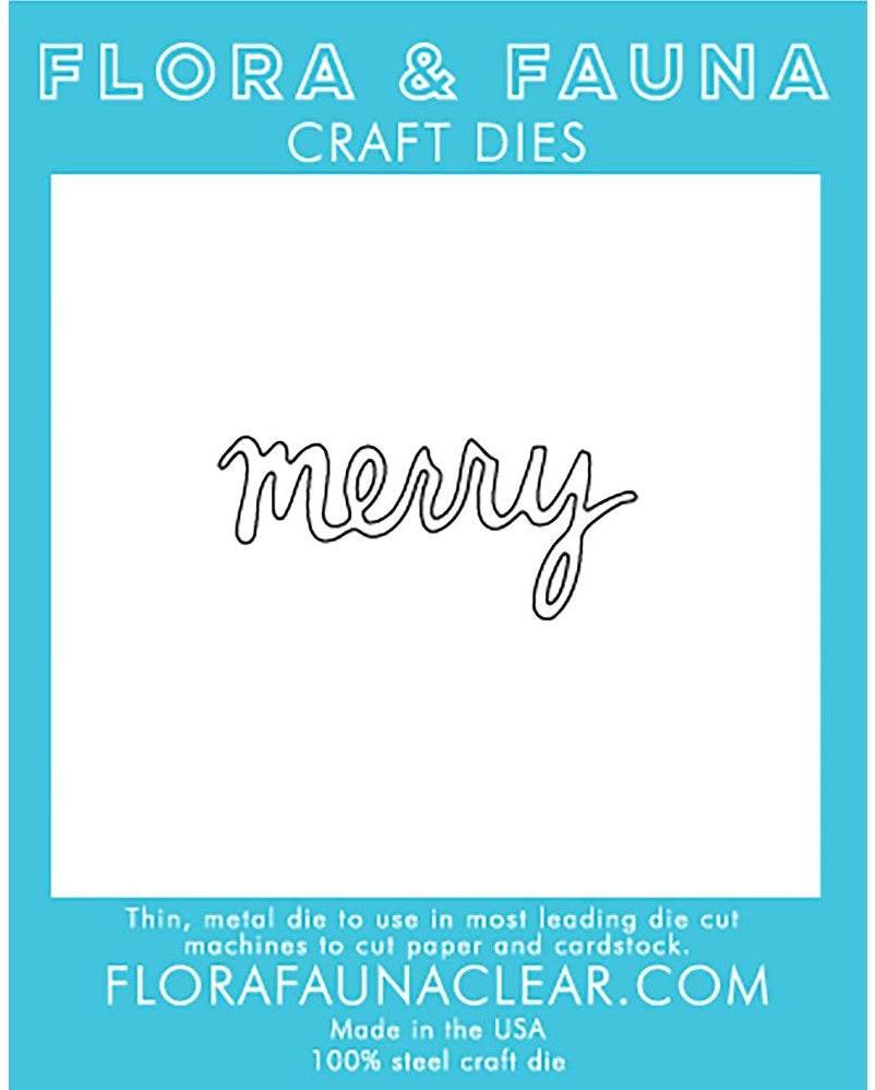 Flora and Fauna - Craft Dies - Merry