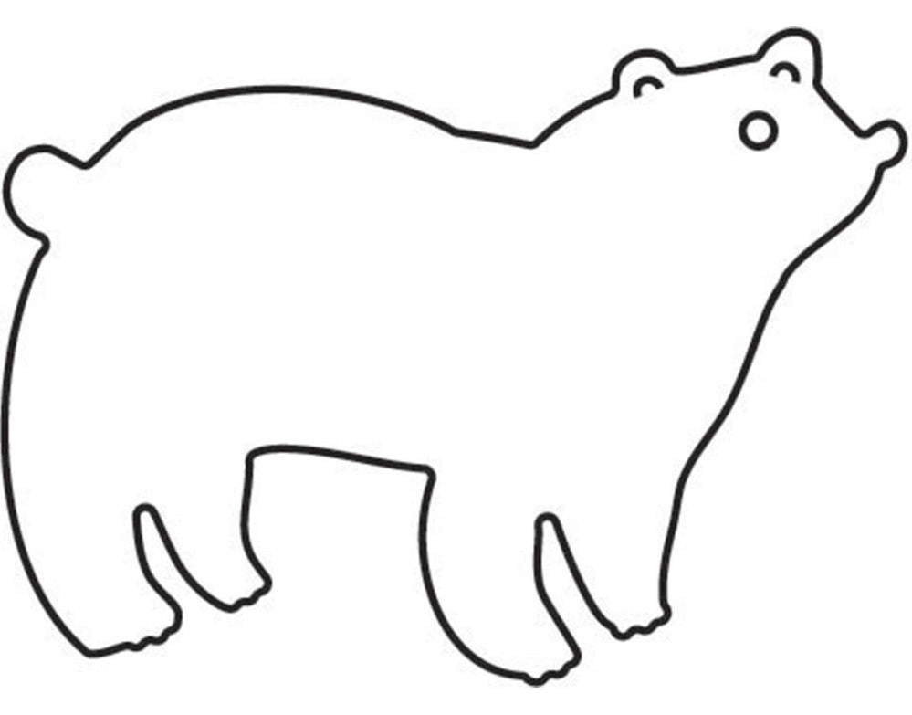 Flora and Fauna - Craft Dies - Polar Bear