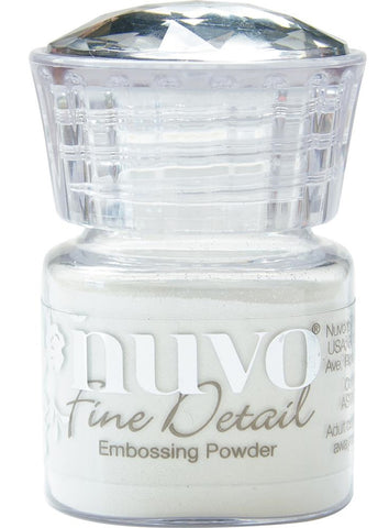 Tonic Studios - Nuvo Fine Detail Embossing Powder - Glacier White
