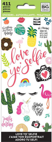 ***Pre-Order*** Me & My Big Ideas - Stickers - Love Yo' Selfie