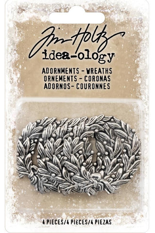 Tim Holtz - Idea-ology - Adornments - Wreaths (Christmas)