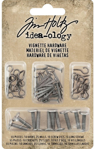 Tim Holtz - Idea-ology - Vignette Hardware (Christmas)