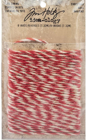 Tim Holtz - Idea-ology - Jute String (Christmas)