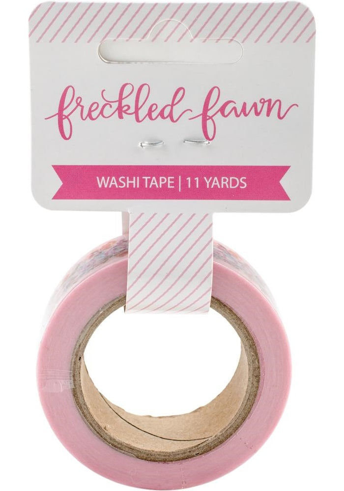Freckled Fawn - Washi Tape - Painted Floral