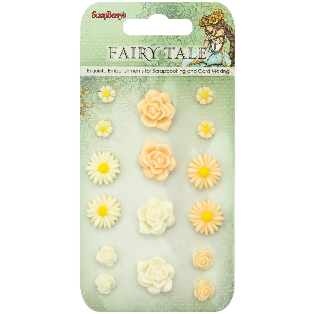 ScrapBerry's - Fairy Tale Resin Flowers #2