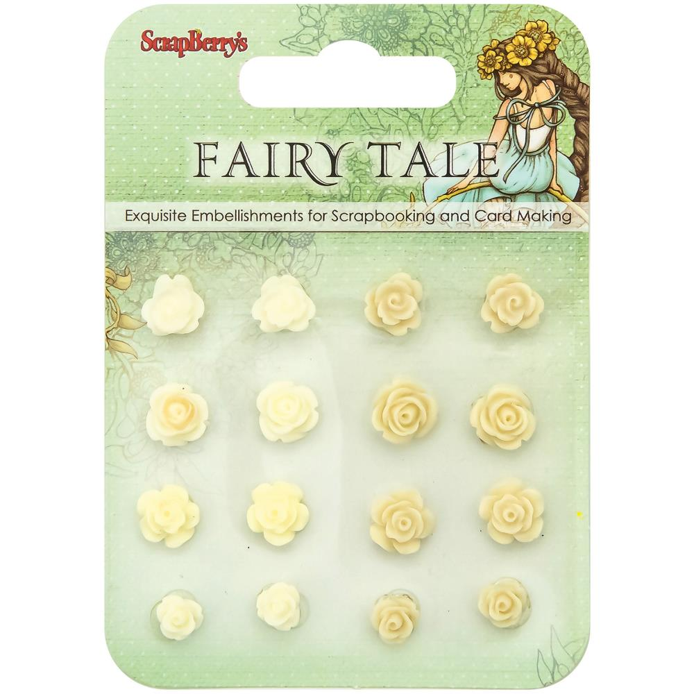 ScrapBerry's - Fairy Tale Resin Flowers #3