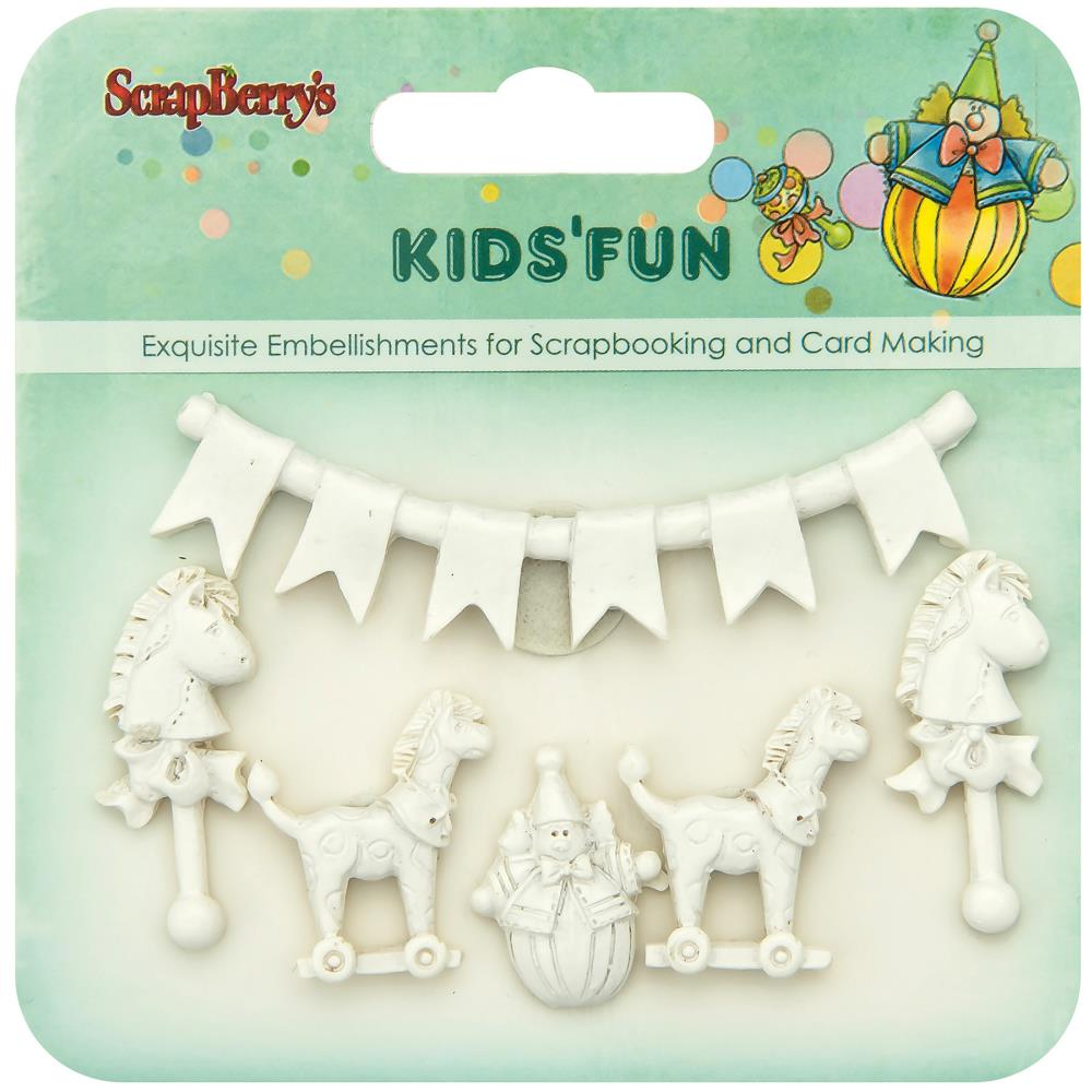 ScrapBerry's - Kids' Fun Polymer Shapes #2