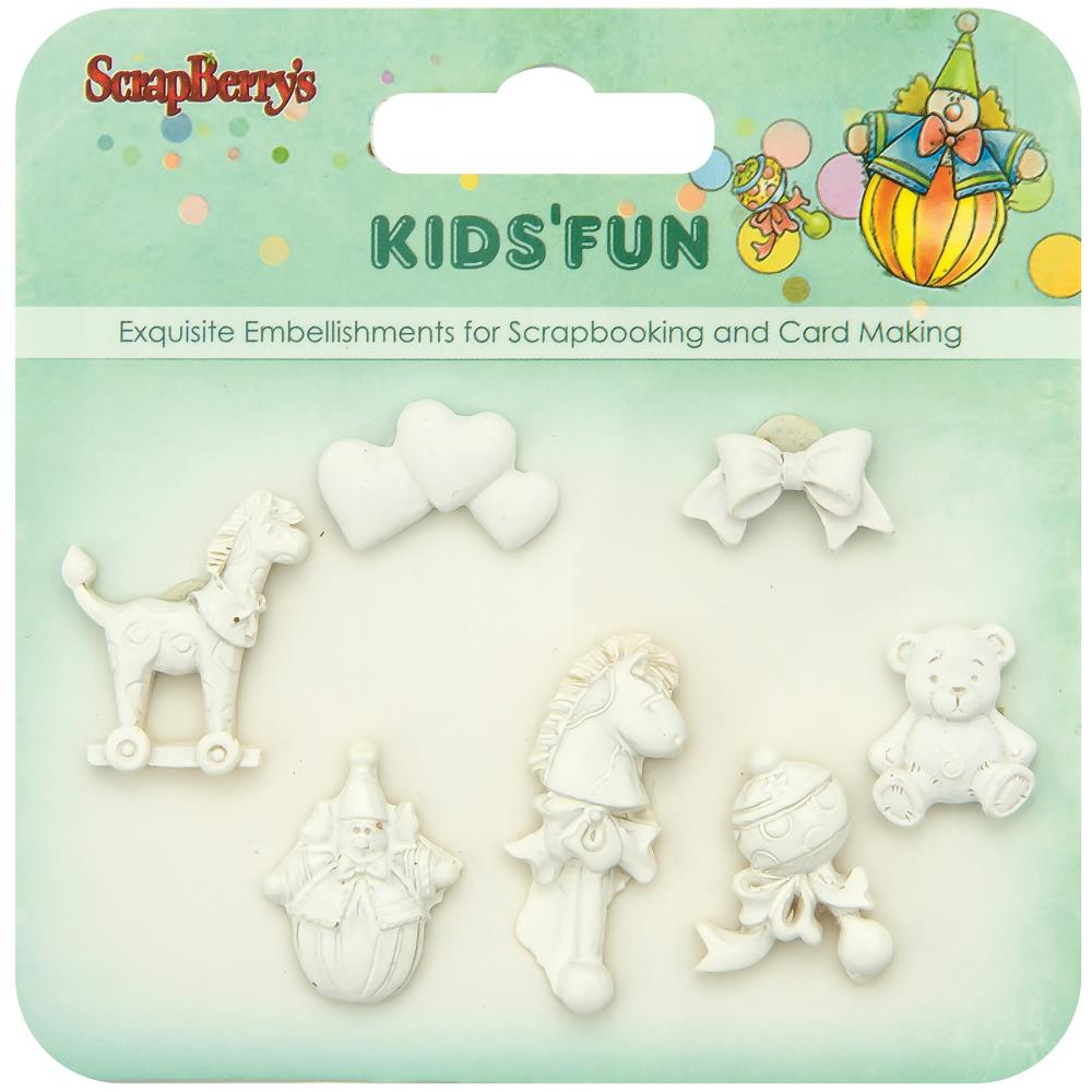 ScrapBerry's - Kids' Fun Polymer Shapes #3
