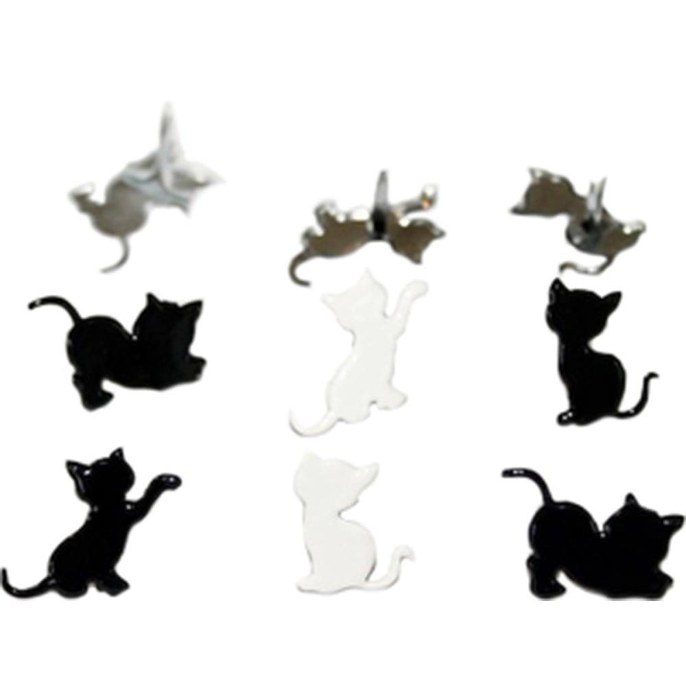 Eyelet Outlet Shape Brads  - Kitten