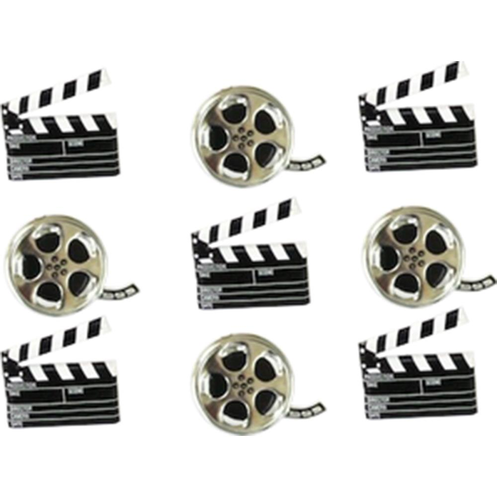 Eyelet Outlet Shape Brads  - Movie
