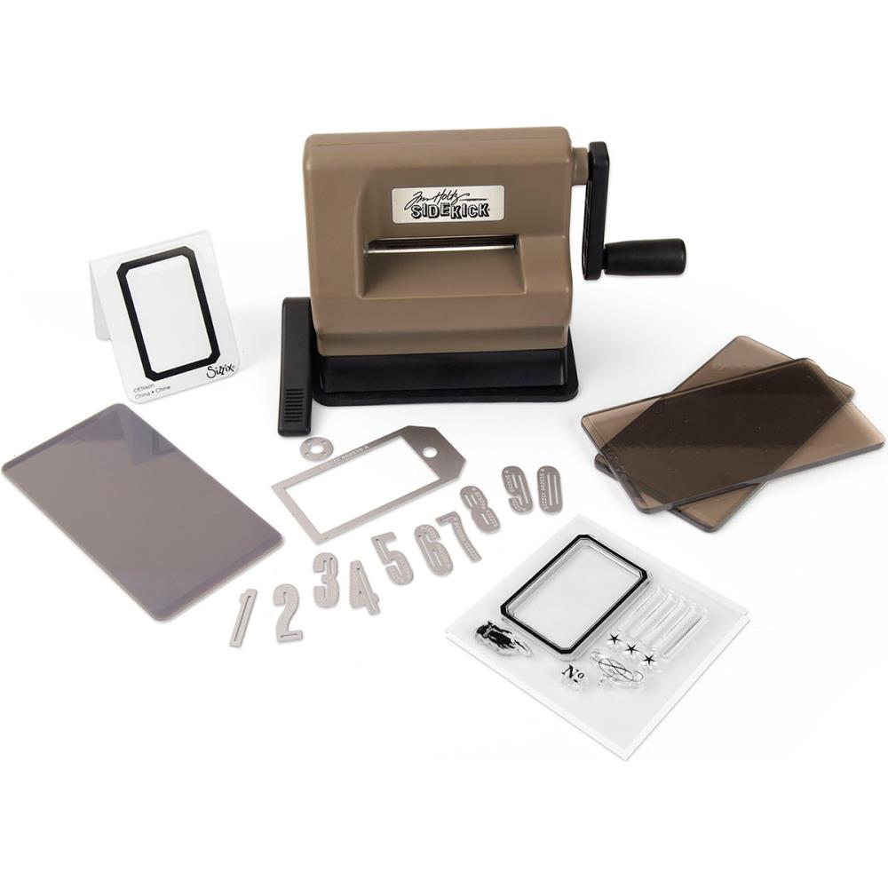 Sizzix Sidekick Starter Die Cutting and Embossing Kit Featuring Tim Holtz