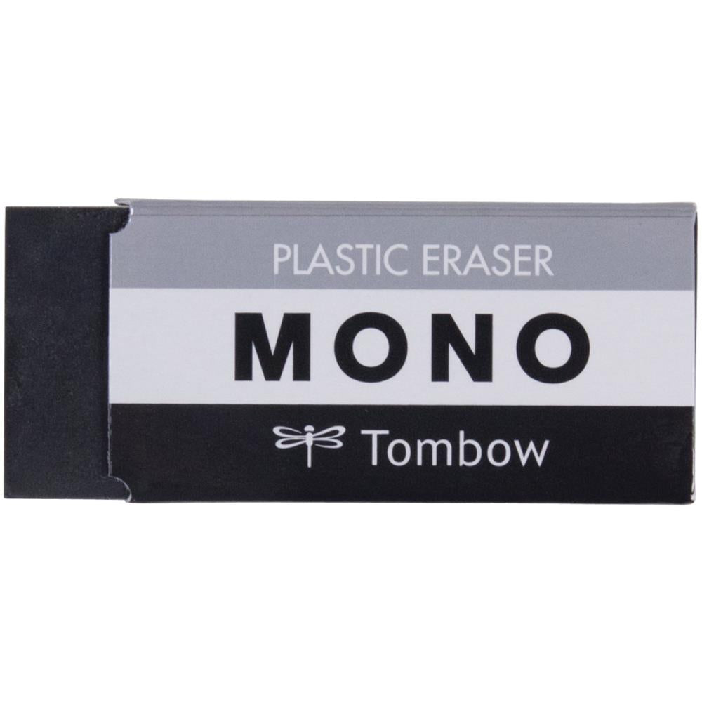 Tombow MONO Medium Plastic Eraser Black