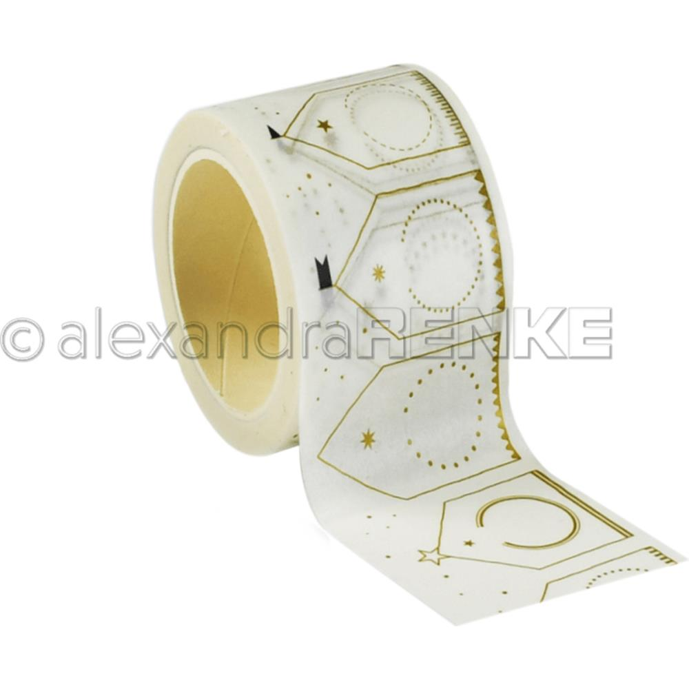 Alexandra Renke Winter Washi Tape 40mmx10mm Big Houses