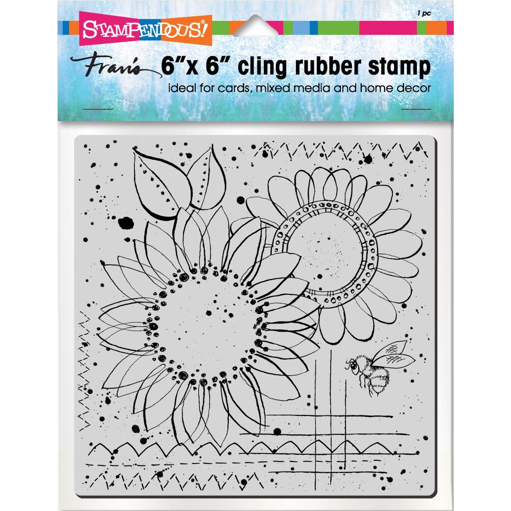 Stampendous Cling Stamps - Sunny Sketch