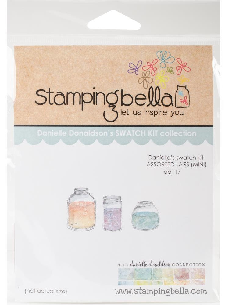 Stamping Bella Danielle's Rubber Stamps - Mini Assorted Jars