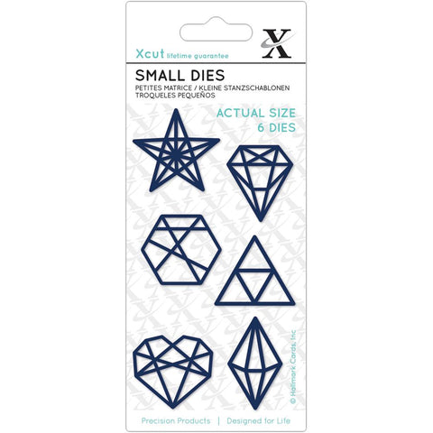 Docrafts Xcut Small Dies - Geometric Shapes