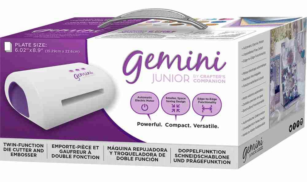 Crafter's Companion - Gemini Jr. Die-Cutting & Embossing Machine