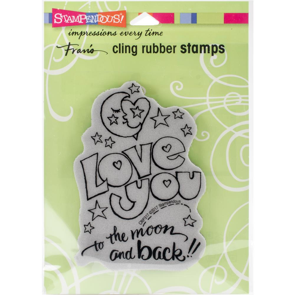 Stampendous Cling Stamp - Great Big Love