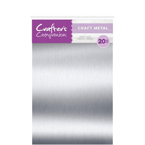 Crafter's Companion - Craft Material Pack - Thin Metal Sheets