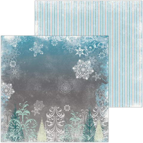 "(pre order) BoBunny - Winter Playground Double-Sided Cardstock 12""X12"" - Frolic"