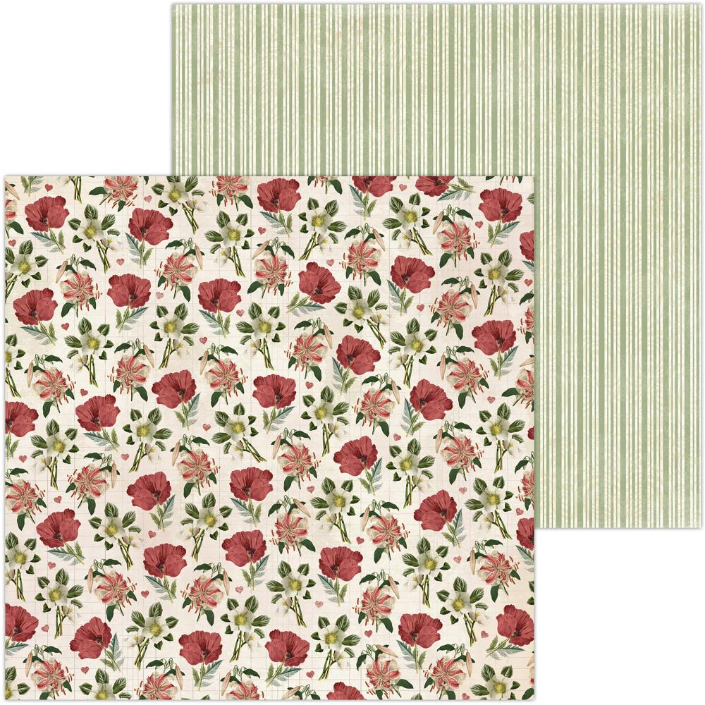 "BoBunny - Only You Double-Sided Cardstock 12""X12"" - Floral"