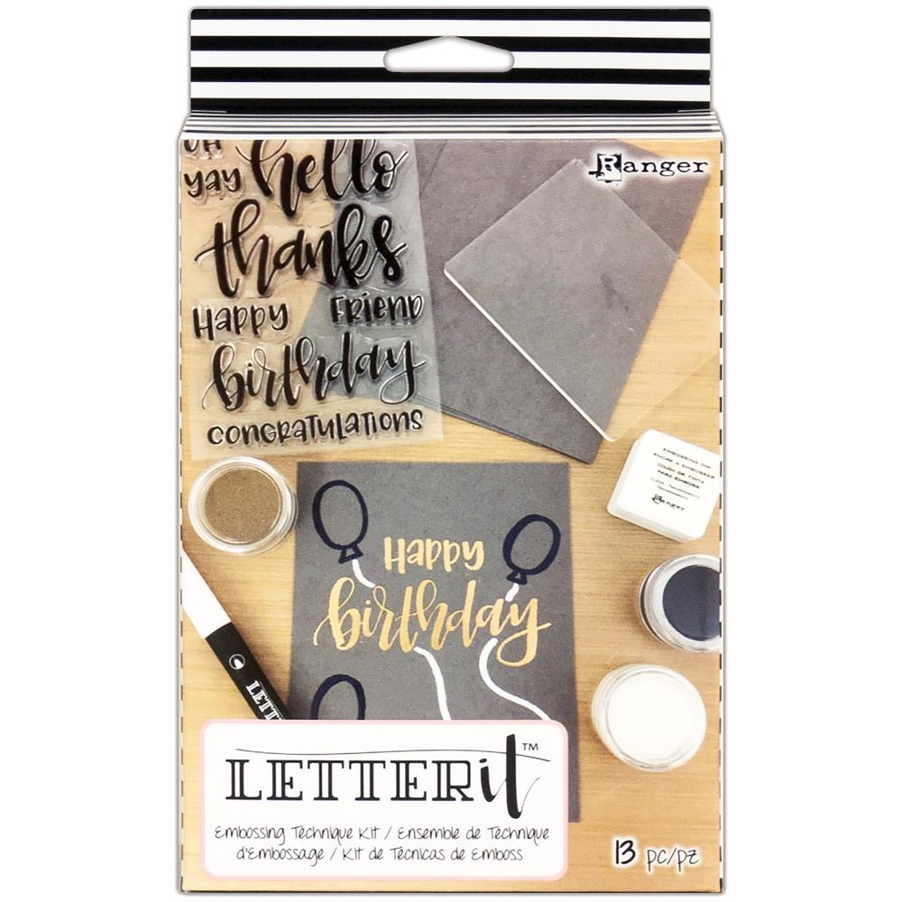 Ranger - Letter It Embossing Technique Kit