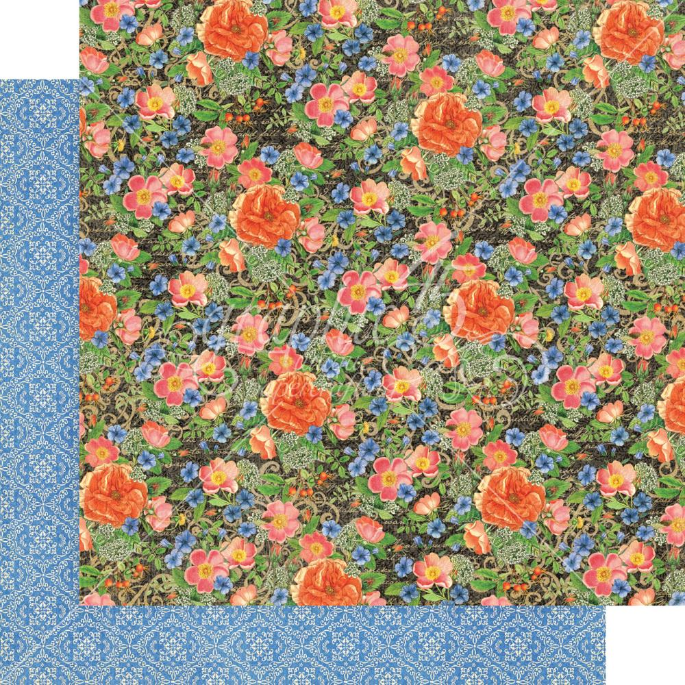"Graphic 45 - Little Women Double-Sided Cardstock 12""X12"" - Full Bloom"