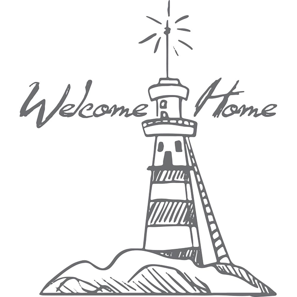 "Couture Creations - Seaside And Me Stamps - Mini Welcome Lighthouse, 1.9""X1.9"""