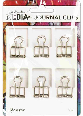 Ranger - Dina Wakley Media - Journal Clips - 6/pkg