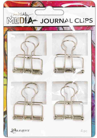 Ranger - Dina Wakley Media - Journal Clips - 4/pkg