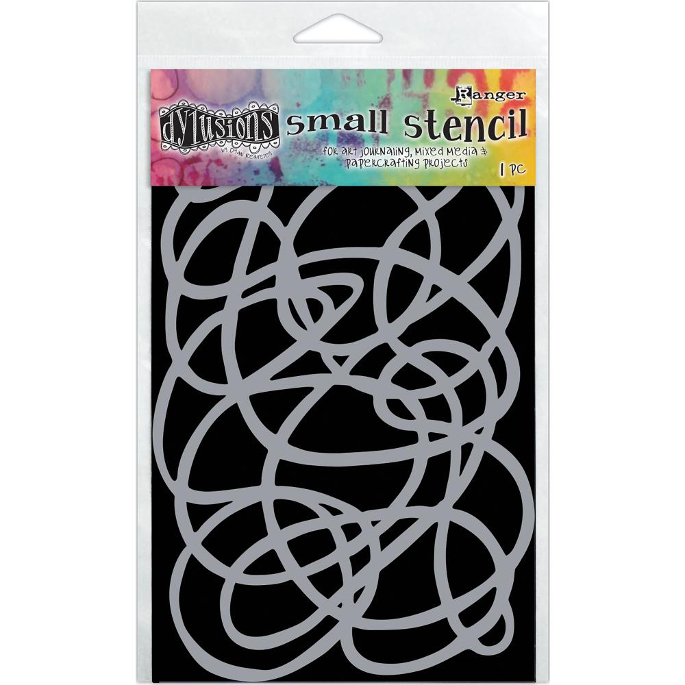 "Ranger - Dyan Reaveley's Dylusions Stencils 5""X8"" - Squiggle"