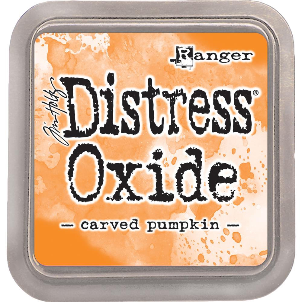(Top 100) Ranger, Tim Holtz Distress Oxides Ink Pad - Carved Pumpkin