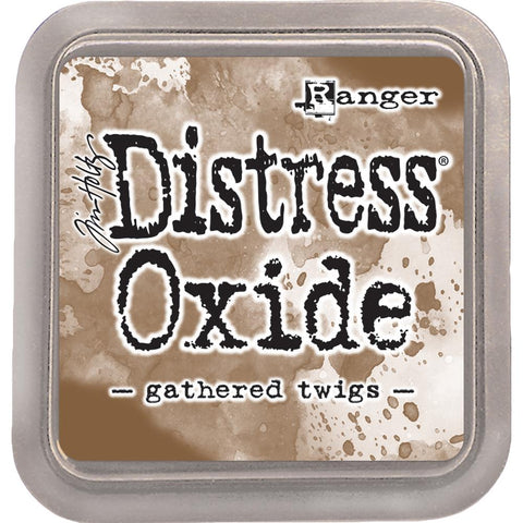 (Top 100) Ranger, Tim Holtz Distress Oxides Ink Pad - Gathered Twigs