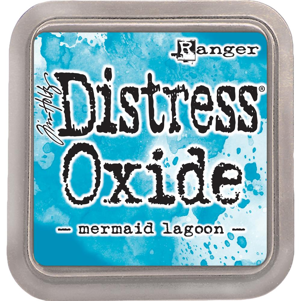 (Top 100) Ranger, Tim Holtz Distress Oxides Ink Pad - Mermaid Lagoon